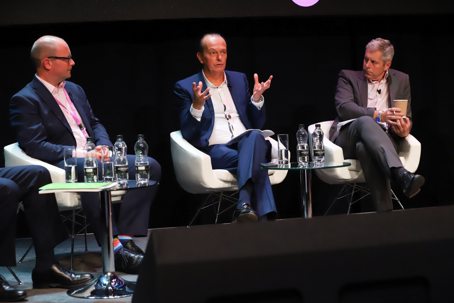 We need to talk about diesel panel debate at the Jaguar Land Rover Tech Fest 2017