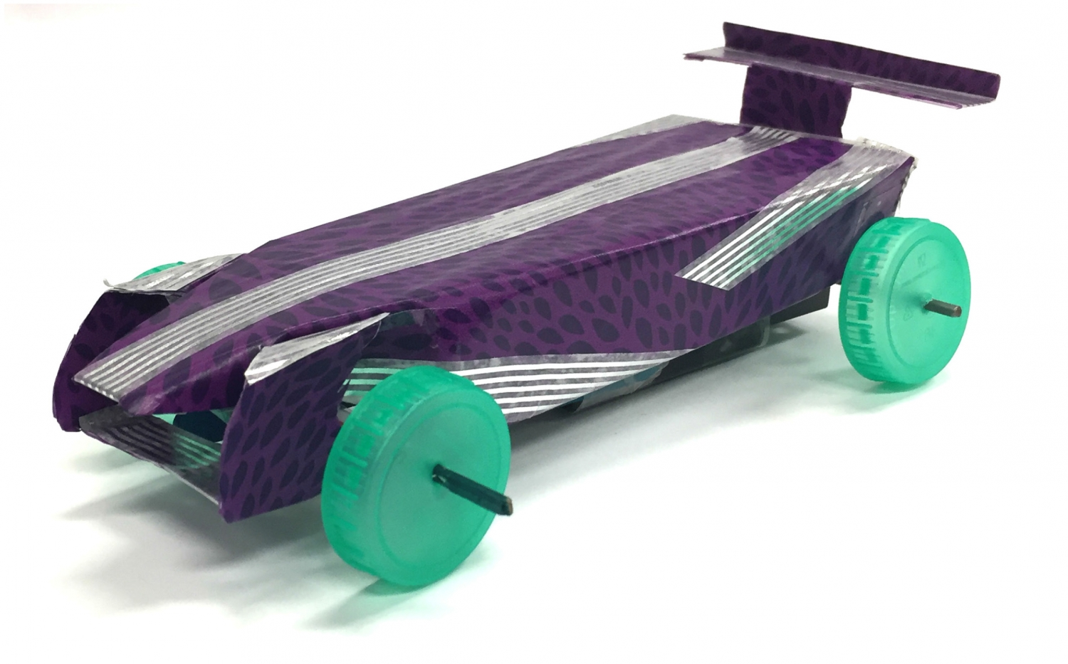 Home Made Electric Model Car - By Jaguar Land Rover Engineers