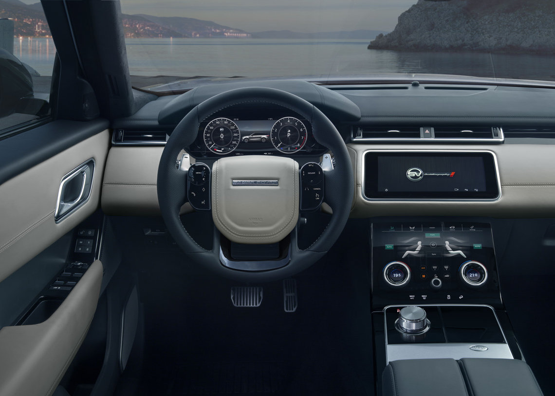 INTERIOR IMAGE - NEW RANGE ROVER VELAR SVAUTOBIOGRAPHY DYNAMIC EDITION