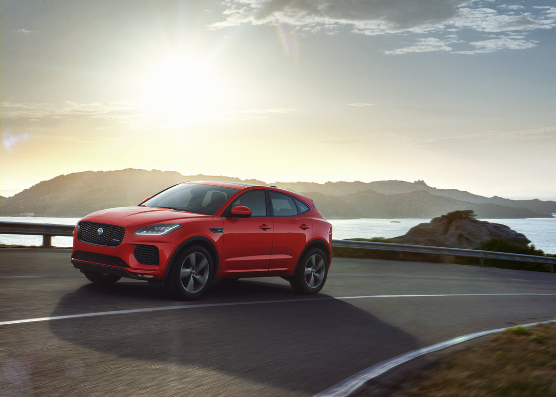 JAGUAR E-PACE GAINS CHEQUERED FLAG SPECIAL EDITION