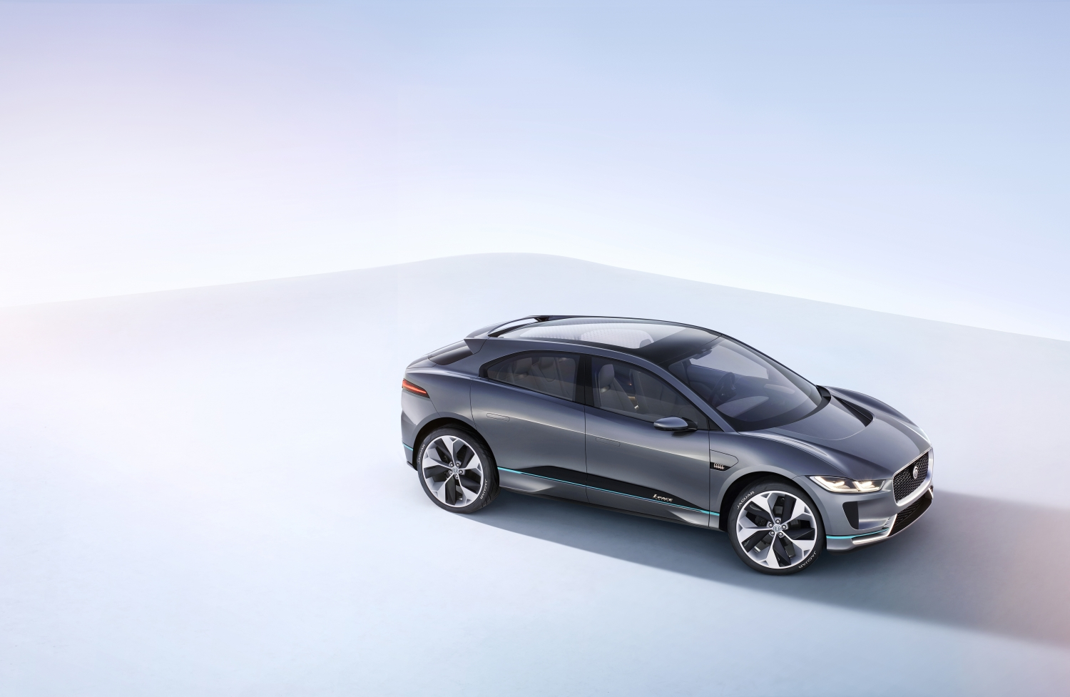 JAGUAR REVEALS THE I-PACE CONCEPT - STUDIO EXTERIOR