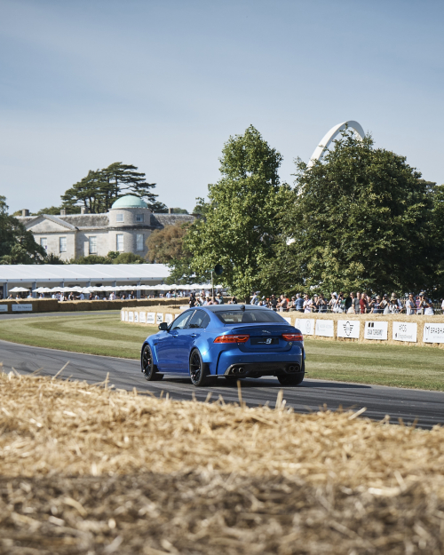 Jaguar at 2019 Goodwood Festival of Speed
