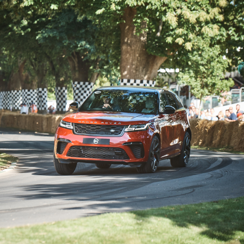 Land Rover at Goodwood Festival of Speed