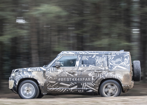 New Land Rover Defender prototype
