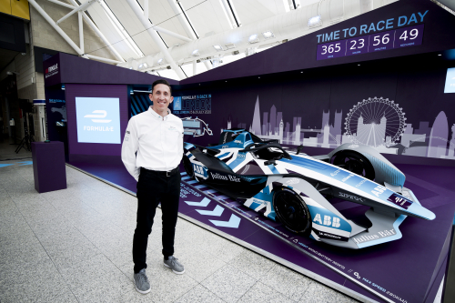 ONE YEAR TO GO UNTIL THE ABB FIA FORMULA E CHAMPIONSHIP RETURNS TO THE UK, THE HOME OF PANASONIC JAGUAR RACING