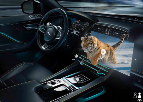 Jaguar Land Rover develops immersive 3D in-car experience with heads-up display research jpg