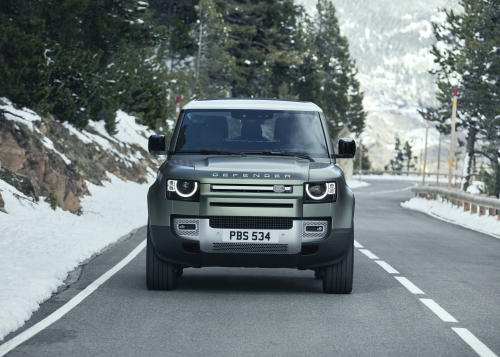 Der neue Land Rover Defender - Dynamic