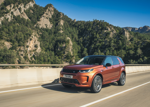 ON-ROAD- BARCELONA: NEW DISCOVERY SPORT