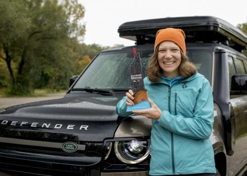 Sarah McNair-Landry ist erste Gewinnerin  des 21st Century Adventurer Award