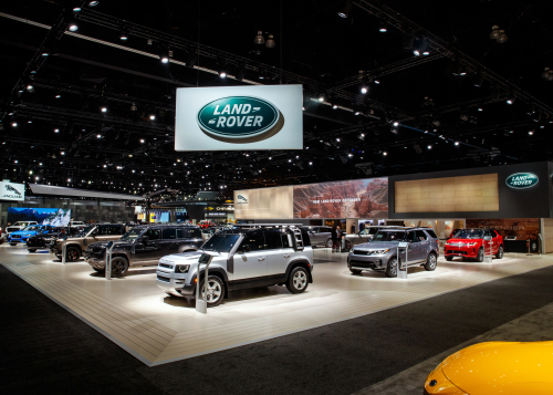 Jaguar Land Rover at the 2019 Los Angeles Auto Show