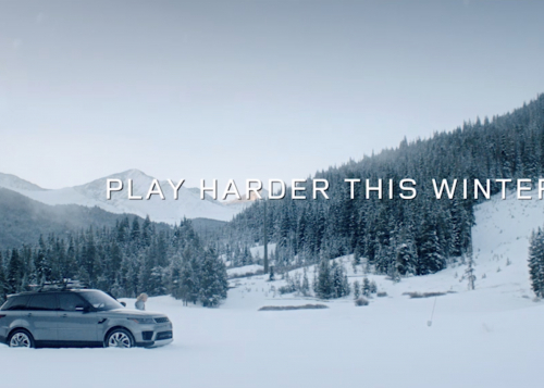 LAND ROVER ANNOUNCES NEW 'PLAY HARDER THIS WINTER' ADVERTISING CAMPAIGN WITH U.S. SKI & SNOWBOARD
