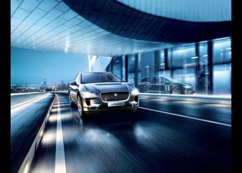 Jaguar I-PACE eTROPHY Hero Image