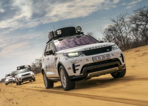 """Abenteuer pur in Afrika: TV-Sender DMAX zeigt Doku über die Land Rover Experience Tour 2019 durch """"KAZA"""""""