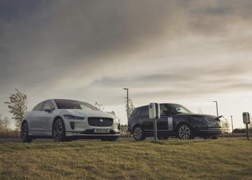 Jaguar I-PACE and Range Rover PHEV