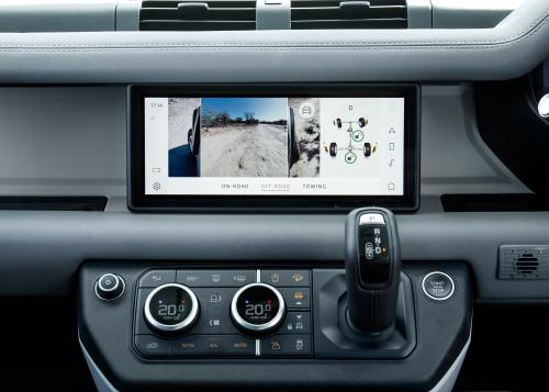"""Land Rover Defender – das neue Infotainment System """"PIVI"""""""