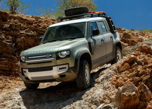 New Defender - Off-Road - Rocky Terrain