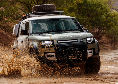 New Defender - Namibia - Off-Road - Water