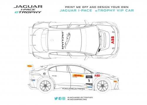 Design your own Jaguar I-PACE eTROPHY