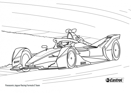 Colour in Panasonic Jaguar Racing I-TYPE 4