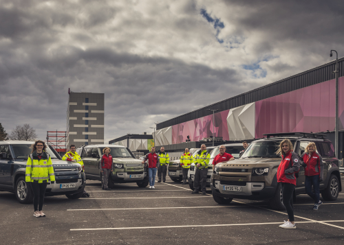 CORONAVIRUS: JAGUAR AND LAND ROVER DEPLOY GLOBAL FLEET TO SUPPORT EMERGENCY RESPONSE PARTNERS