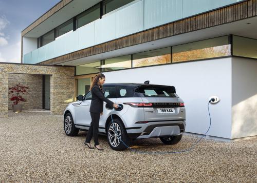 Der Range Rover Evoque als effizienter Plug-In Hybrid