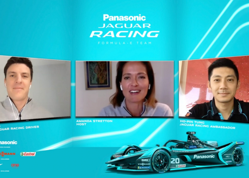 JAGUAR RACING'S RE:CHARGE @ HOME SERIES CONTINUES WITH JAMES CALADO AND JAGUAR RACING AMBASSADOR HO-PIN TUNG