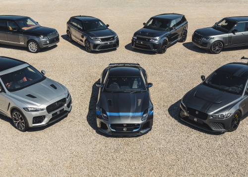 JAGUAR LAND ROVER SPECIAL VEHICLE OPERATIONS REPORTS FISCAL 2019/20 RETAIL SALES GROWTH