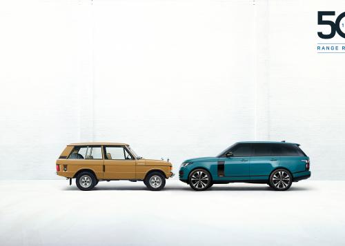 Range Rover Fifty - 21MY