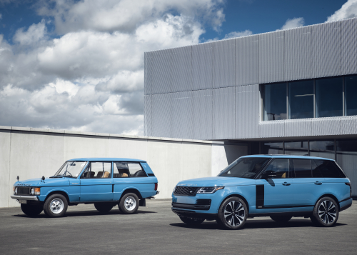 Range Rover Autobiography Fifty Edition - European Model Shown