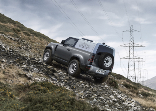 The New Land Rover Defender Hard Top