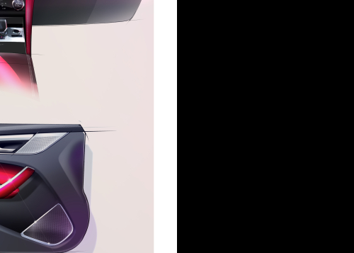 NEW JAGUAR F-PACE – DESIGN SKETCH
