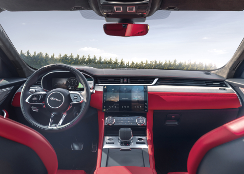 Jag F-PACE 21MY - Interior
