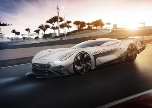 Jaguar Vision Gran Turismo SV: der ultimative elektrische Langstreckenrennwagen für die Spielekonsole - Bilder
