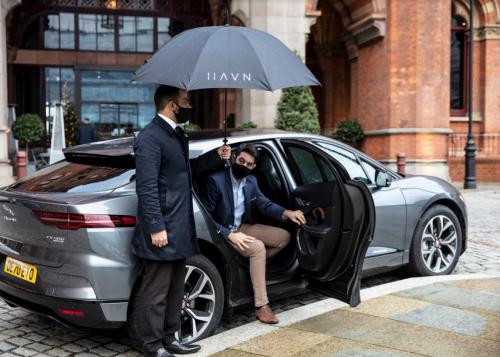 Blacklane investiert in Havn und startet mit dem Jaguar I-PACE einen elektrischen Chauffeur Service in London
