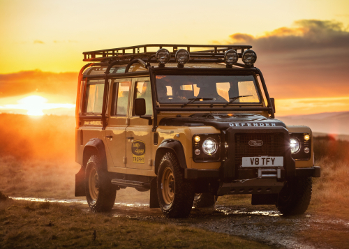 Adventure-ready Land Rover Defender Works V8 Trophy celebrates expedition legacy with unique experience