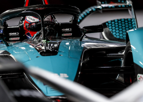 PODIUM FINISH FOR MITCH EVANS & JAGUAR RACING UNDER THE LIGHTS AT THE DIRIYAH E-PRIX