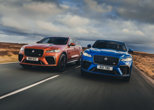NEW F-PACE SVR - ATACAMA ORANGE