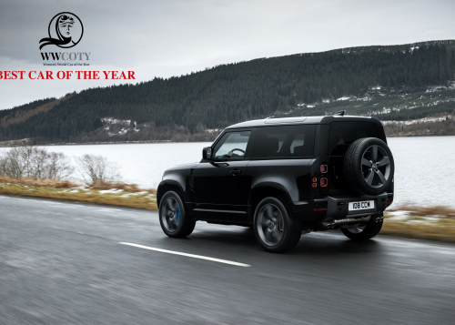 WWCOTY : Le Land Rover Defender, sacré