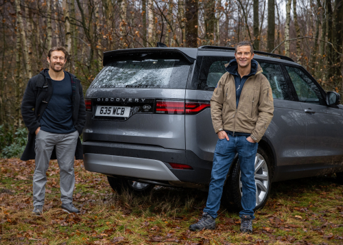Bear Grylls and Jonny Wilkinson launch Project Discovery