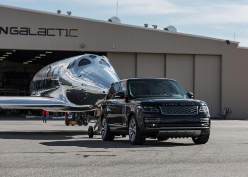 Land Rover und Virgin Galactic vereinbaren Fortsetzung ihrer globalen Partnerschaft