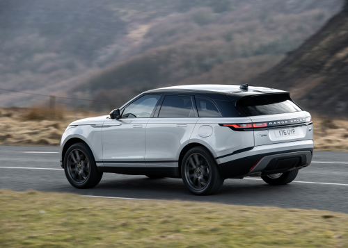 Range Rover Velar PHEV - On-road driving