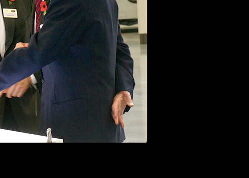HRH Prince Philip The Duke of Edinburgh visits Jaguar Land Rover