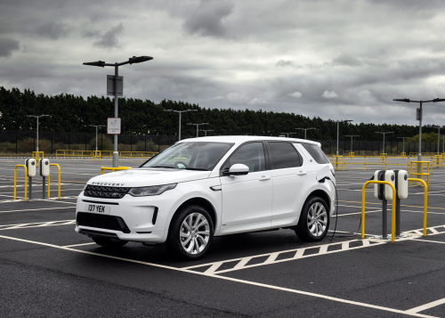Land Rover Discovery Sport PHEV in Fuji White
