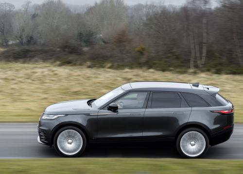 Range Rover Velar D300 MHEV R-Dynamic S - dynamische Außenbilder