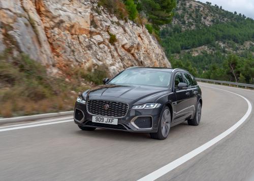 Jaguar XF Sportbrake Dynamische Außenbilder