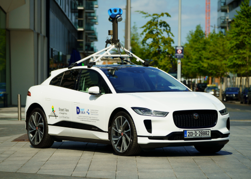 Jaguar I-PACE x Google Street 2
