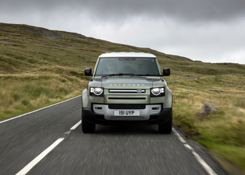 Jaguar Land Rover entwickelt Defender Prototyp mit wasserstoffbetriebener Brennstoffzelle