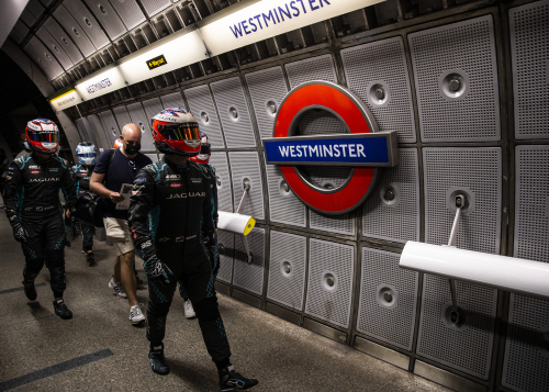 Jaguar Racing - London Underground