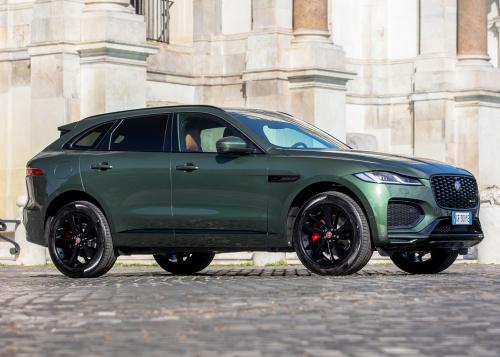 Jaguar F-Pace Greenstone