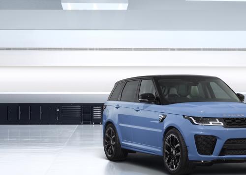 SVR Ultimate Edition: Land Rover Special Vehicle Operations stellt den ultimativen Range Rover Sport SVR auf die Räder